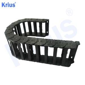 China Supplier Cable Carriers Mounting Bracket - OEM CNC Plastic Cable Carrier Drag Chain Towline Exporter – Krius