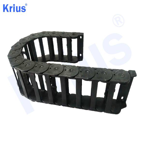 Short Lead Time for Cable Carriers Divider - Precision CNC Engineering Nylon Electrical Cable Drag Chain – Krius
