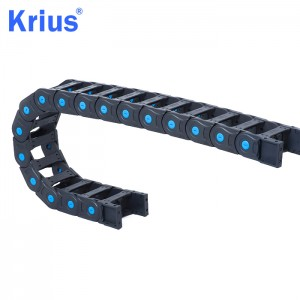 OEM/ODM Supplier 25mmx57mm Cable Tow Chain - Wholesale Plastic Drag Chain Cable Carrier Energy Chains  – Krius