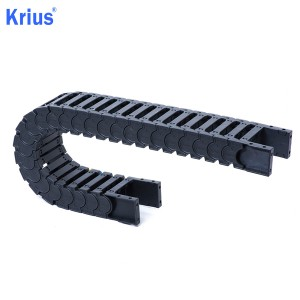 Special Design for Cable Chain For Turning Milling Machine - OEM CNC Plastic Cable Carrier Drag Chain Towline Exporter  – Krius