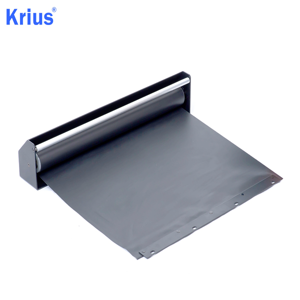 Good Quality Bellow Covers - Good Structure Aluminium Roll Cover Curtain – Krius detail pictures