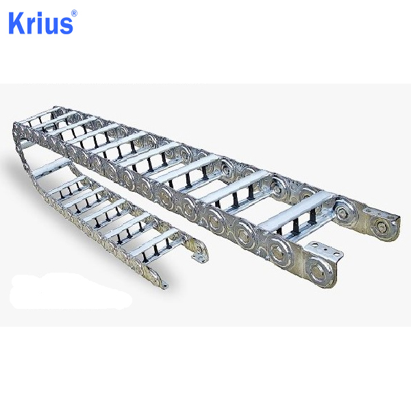 2019 New Style Cable Carrier Cable Drag Chain - TL45 Metallic Cable Energy Chain Factory Outlet Sales – Krius