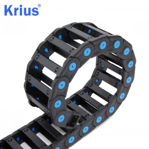 Wholesale Price Reinforce Nylon Cable Chain - Protect Wire Cable Chain For Sawing Machine – Krius