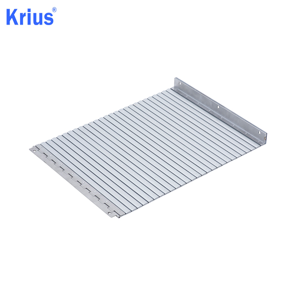 Good quality Armoured Machine Accordion Shield – Aluminium Apron Cover Protective Bellow Cover – Krius