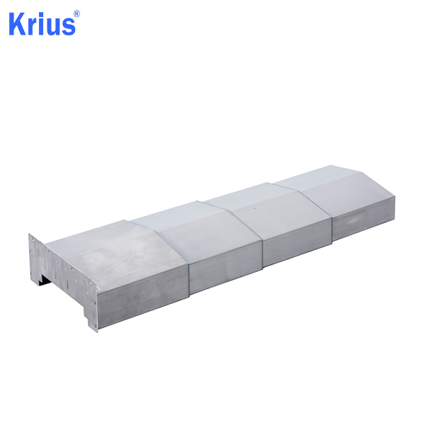 Wholesale Price Steel Armoured Machine Bellows - Large Strenched Bellow Telescopic Steel Cover – Krius Featured Image