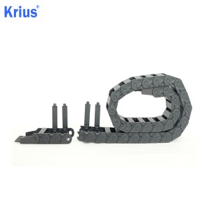 Nylon Flexible Energy Cable Guiding Tray Drag Chain