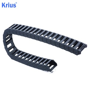OEM Customized Wire Cable Carrier 60*50mm - China Krius CNC Machine Plastic Carrier Cable Drag Chain Interior Open Type  – Krius