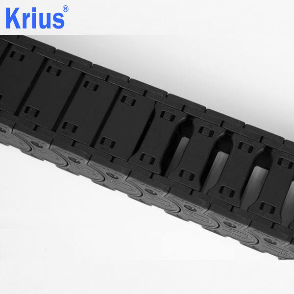 2019 Latest Design Heavy Duty Strong Size Flexible - High Speed Plastic Cable Chain For Milling Machine  – Krius