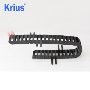 Factory making Sliding Drag Chain - Krius High Quality Professional Flexible Plastic Drag Chain Cable Tray – Krius