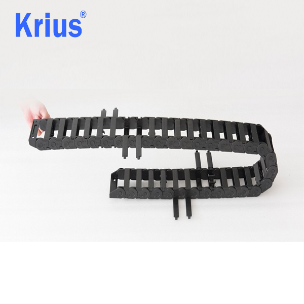 Professional China Drag Chain - Krius Closed  Open Plastic Cable Drag Chain  – Krius