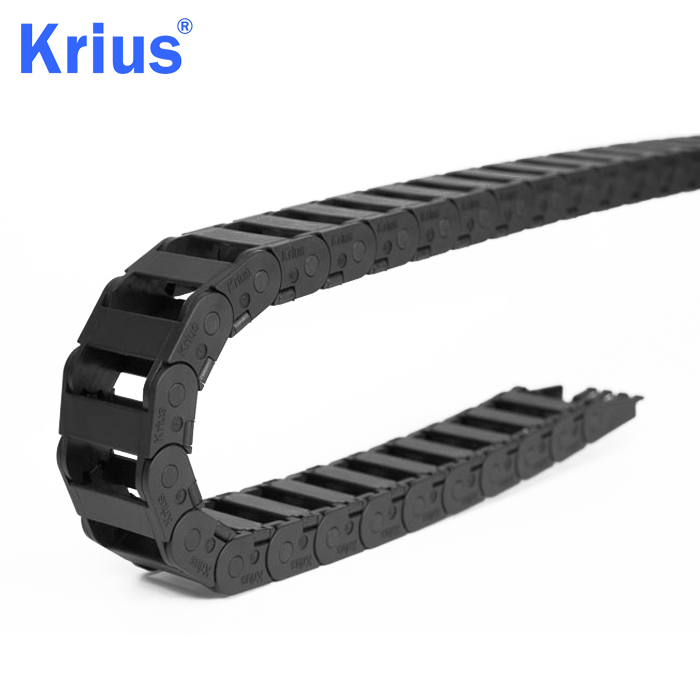 Manufacturer for Flexible Cable Chain - Nylon Flexible Energy Cable Guiding Tray Drag Chain  – Krius