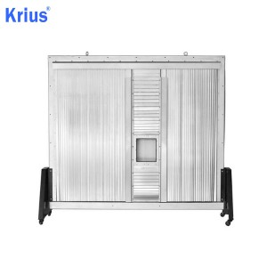 Leading Manufacturer for Accordion Round Bellow - Multiaxis Steel Cover System For CNC Machine Center – Krius