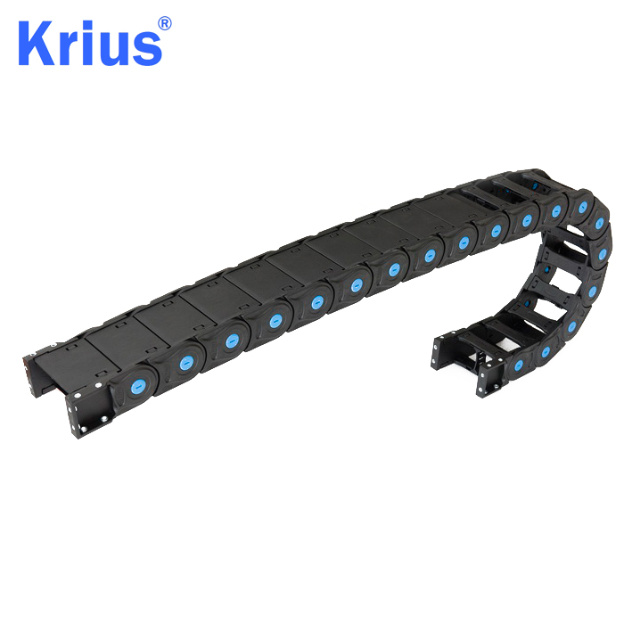 Factory directly supply 15*40 Energy Chain - Full Closed Nylon Cable Drag Chain For Burnishing Machine – Krius