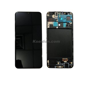 Samsung A20/A205 LCD Screen and Digitizer Assembly original with frame Kseidon