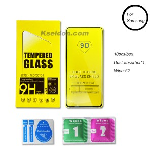 Tempered Glass Screen Protector Samsung Huawei Iphone HD Super hardness Kseidon
