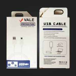 Vale-U02 Micro USB Cable 3A Fast Data Sync Charging Phone Cable For Samsung Huawei LG Xiaomi Android Micro Usb Mobile Phone Cable