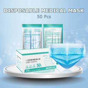 50Pcs Profession Disposable Masks