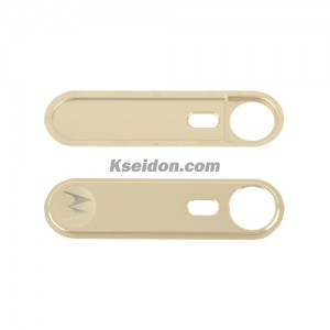 Camera frame With m logo for Motorola X3 style Gold