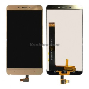 LCD Complete For MIUI Red rice note 4 oi self-welded Gold