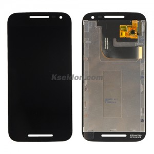 LCD with touch screen for Motorola G3 Black