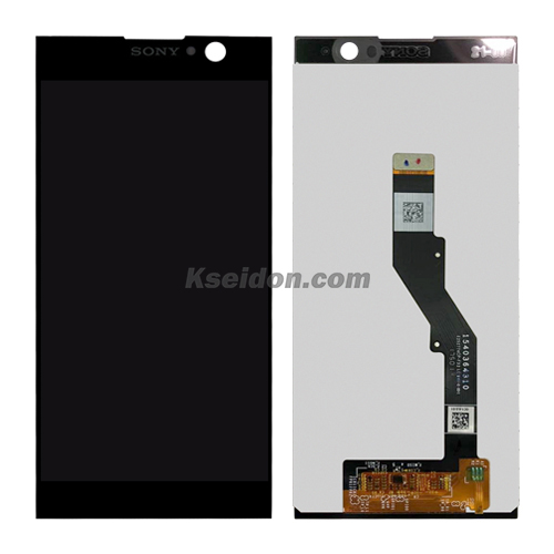 LCD Complete with frame For Sony XA2 Brand New Black Featured Image