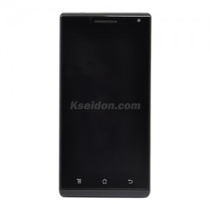 LCD With Frame For Huawei Ascend P1/U9200 Brand New Black