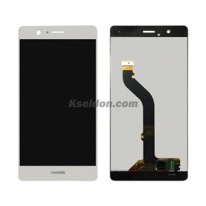 LCD Complete For Huawei P9 lite oi self-welded White
