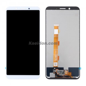 LCD Complete with frame For OPPO A83 Brand New White
