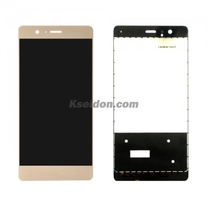 LCD Complete For Huawei P9 oi self-welded Gold