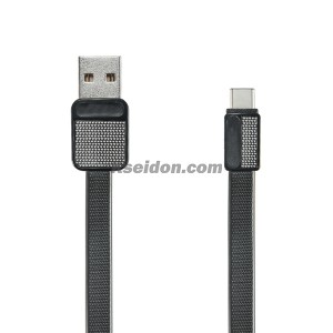 Platinum Cable for iPhone 6 RC-044i Black