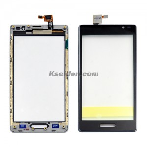 Touch Display With Frame For LG Optimus L9 P760 Brand New Black