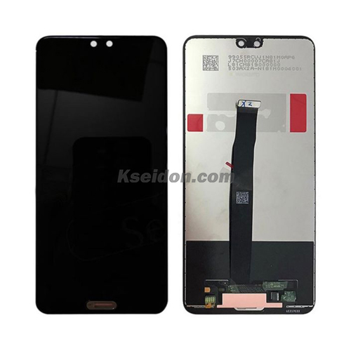 LCD Complete with frame For Huawei P20 Brand New Black Featured Image