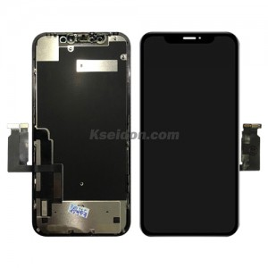 LCD Complete with frame For iPhone XR Black