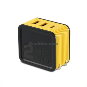 Kutry Adapter RP-U24 For CN 2USB Yellow