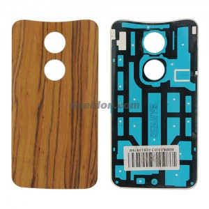 Battery cover Walnut without logo for Motorola X+1