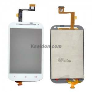 LCD Complete For HTC One SV Brand New Self-Welded White