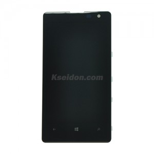 LCD Complete With Frame For Nokia Lumia 1020 Brand New Black