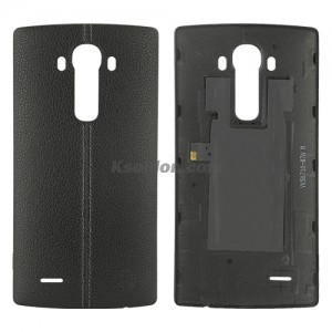 Battery cover Leather battery cover with NFC for LG G4 Brand New Black