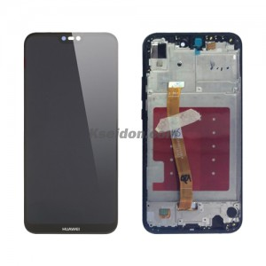 LCD Complete With Frame For Huawei P20 lite oi self-welded Black