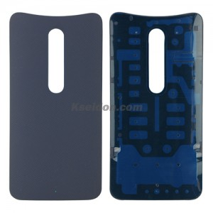 Battery cover for Motorola X3 style Dark grey