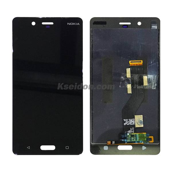 LCD Complete for Nokia 8 Brand New Black Featured Image