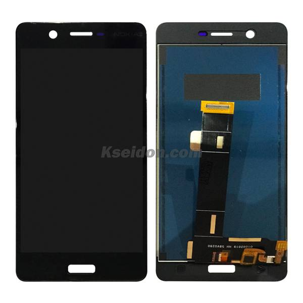 LCD Complete for Nokia 5 Brand New Black Featured Image