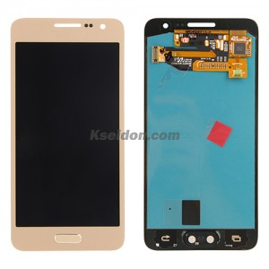LCD for Samsung Galaxy A3/A300 oi Gold