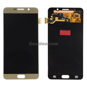 LCD for Samsung Galaxy kwinqaku lesi-5 / N9200 oi Gold