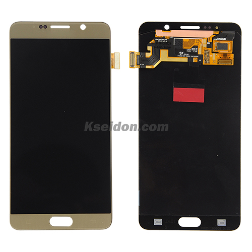 LCD for Samsung Galaxy note 5/N9200 oi Gold Featured Image