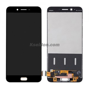 LCD Complete with frame For OPPO R9S Plus Brand New Black