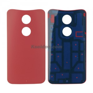Battery cover for Motorola X+1 Red
