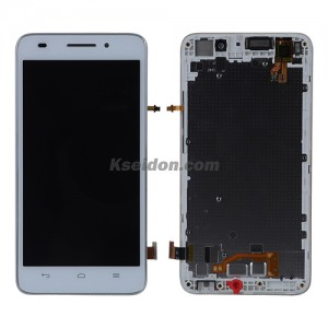 LCD complete with frame for Huawei G620s Brand New White