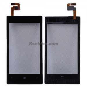 Touch display with frame for Nokia Lumia 520
