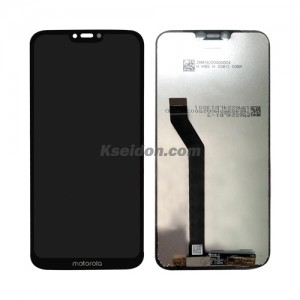 LCD Complete For Motorola G7 Power Brand New Black